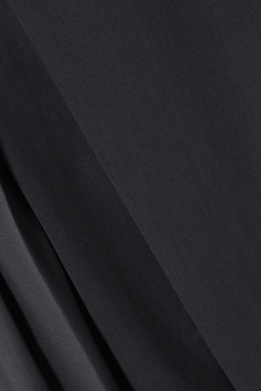 LOW CLASSIC Hose aus Webstoff mit Falten