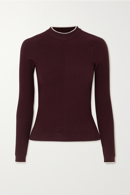 Vaara Filipa TrueKnit ribbed wool-blend top