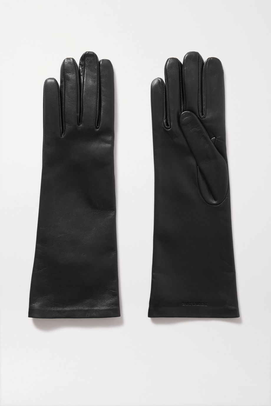 SAINT LAURENT Leather gloves