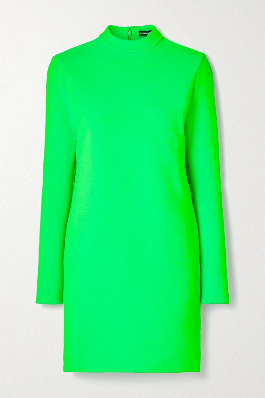 Kwaidan Editions Neon stretch-knit mini dress