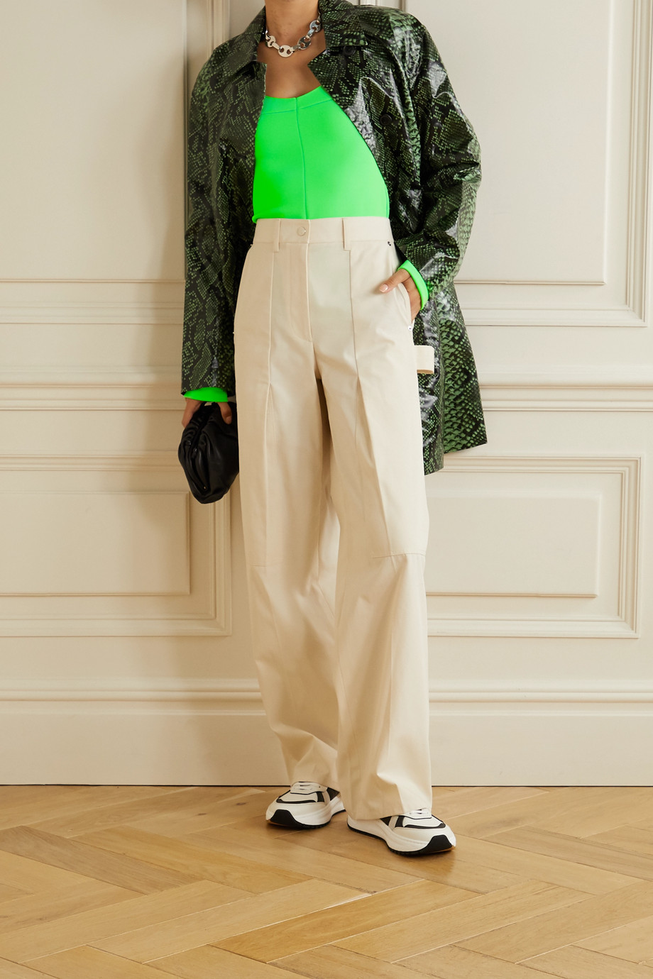 Kwaidan Editions Neon stretch-knit top