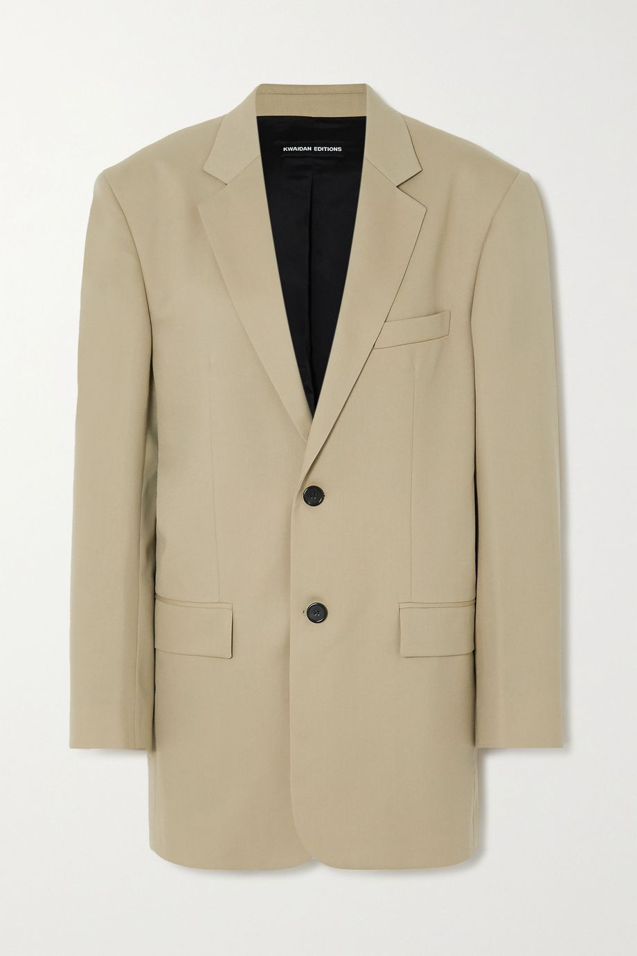 Kwaidan Editions Oversized wool-blend blazer
