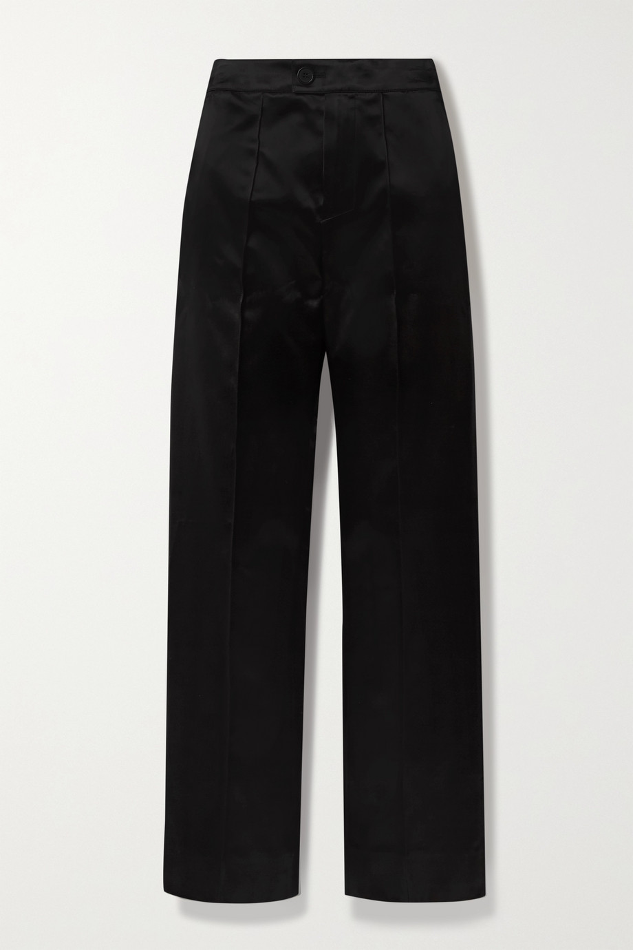 Kwaidan Editions Duchesse-satin straight-leg pants