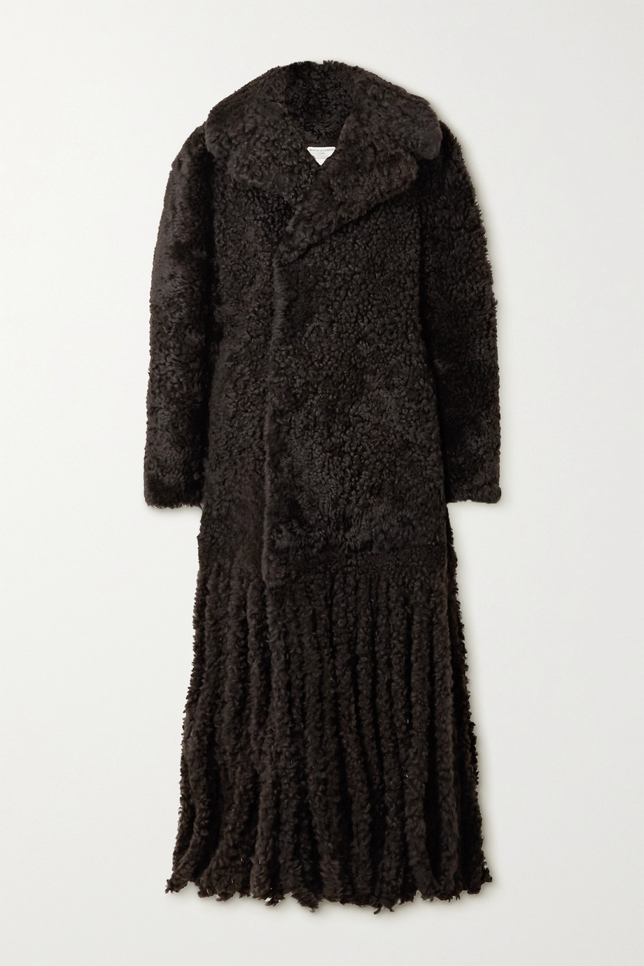 Bottega Veneta Fringed shearling coat