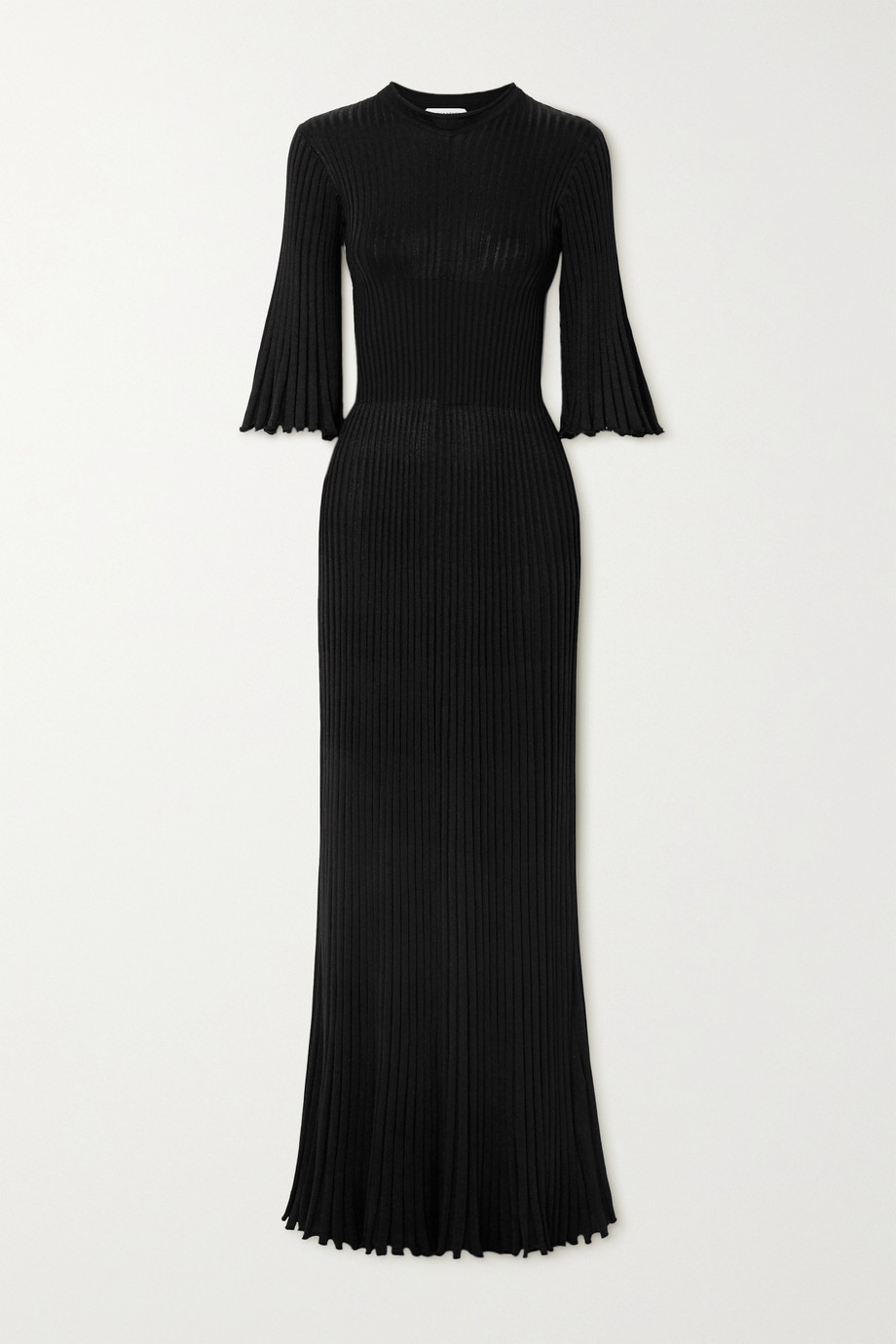 Bottega Veneta Ribbed-knit gown