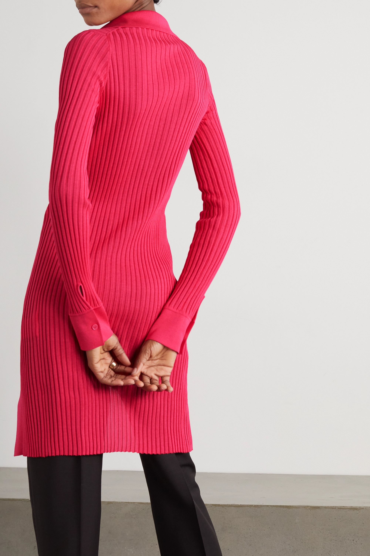 Bottega Veneta Ribbed cotton and silk-blend cardigan