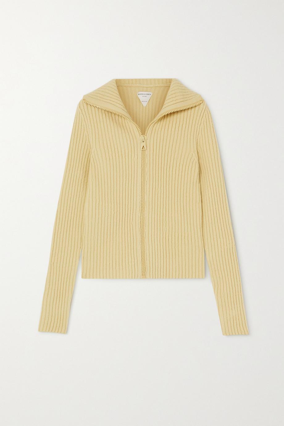 Bottega Veneta Ribbed wool-blend cardigan