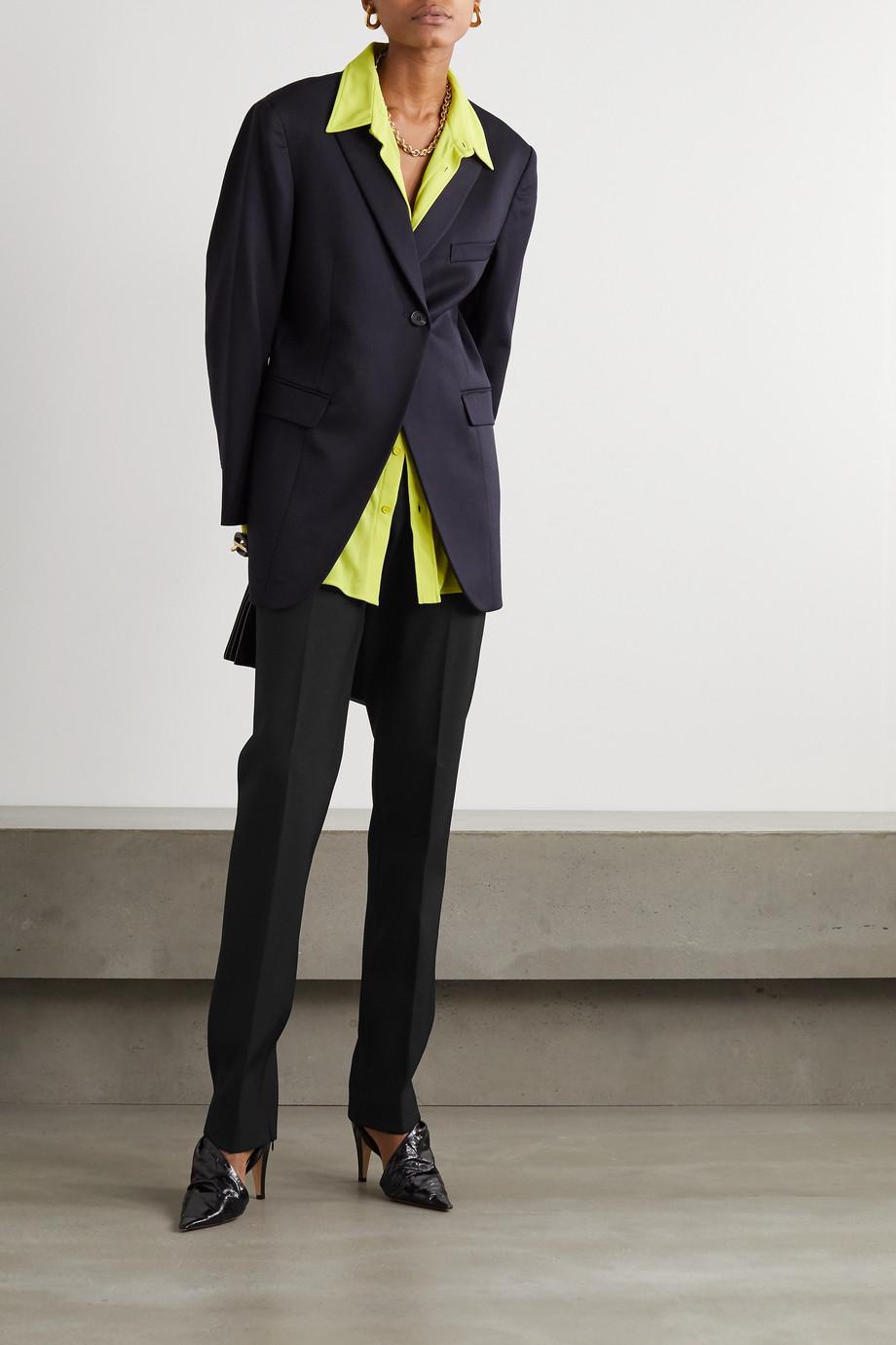 Bottega Veneta Pantalon slim en serge