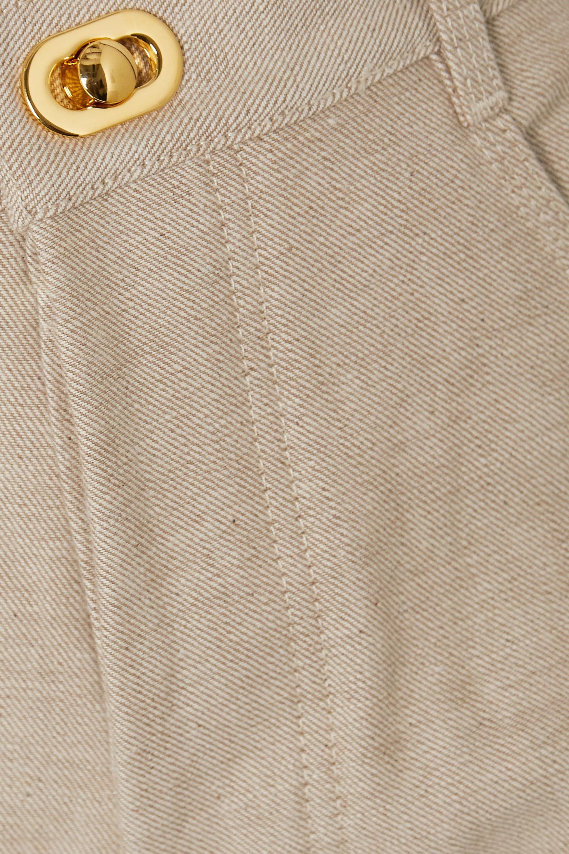 Bottega Veneta Jean droit taille haute