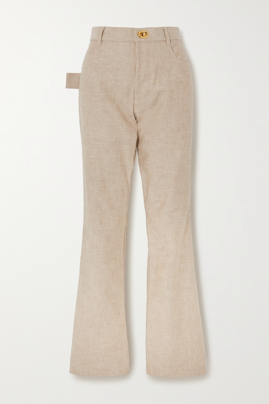 Bottega Veneta High-rise straight-leg jeans
