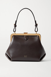 Khaite Agnes small leather tote