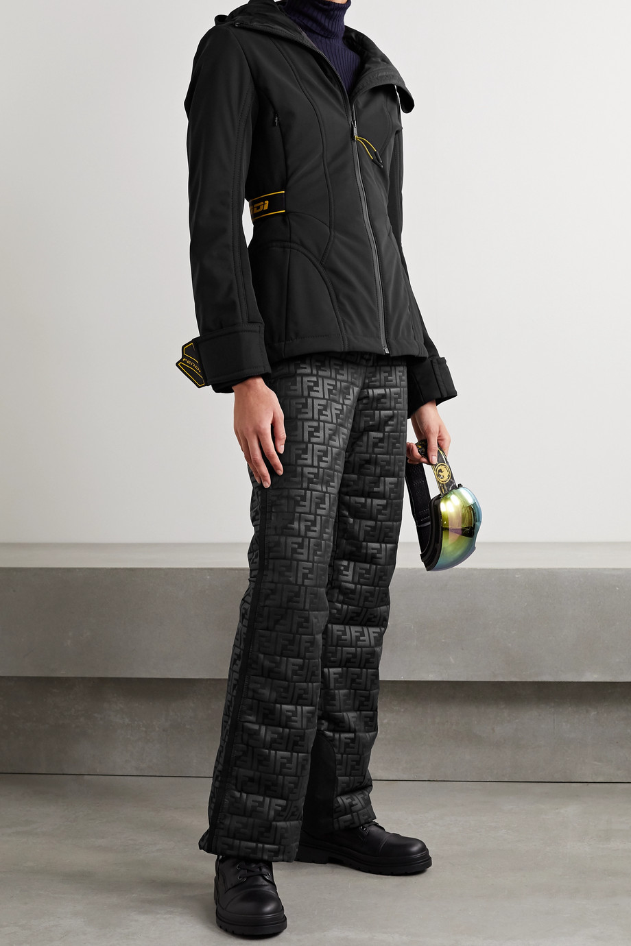 Fendi Printed ski pants