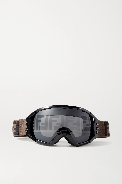 Fendi Skibrille mit Nieten