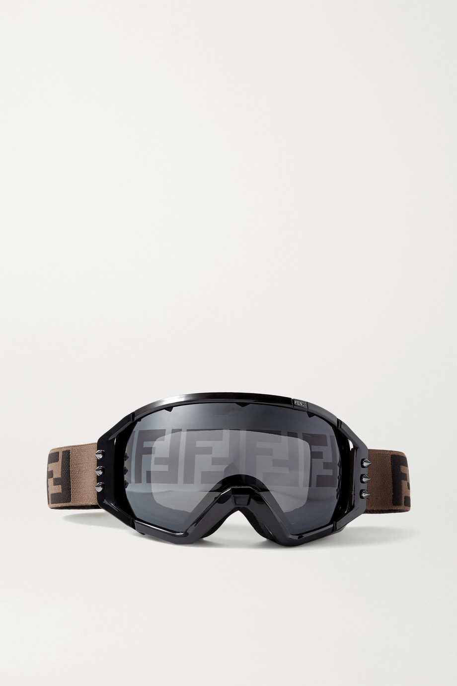Fendi Masque de ski à clous