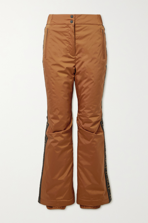 Fendi Printed ski pants