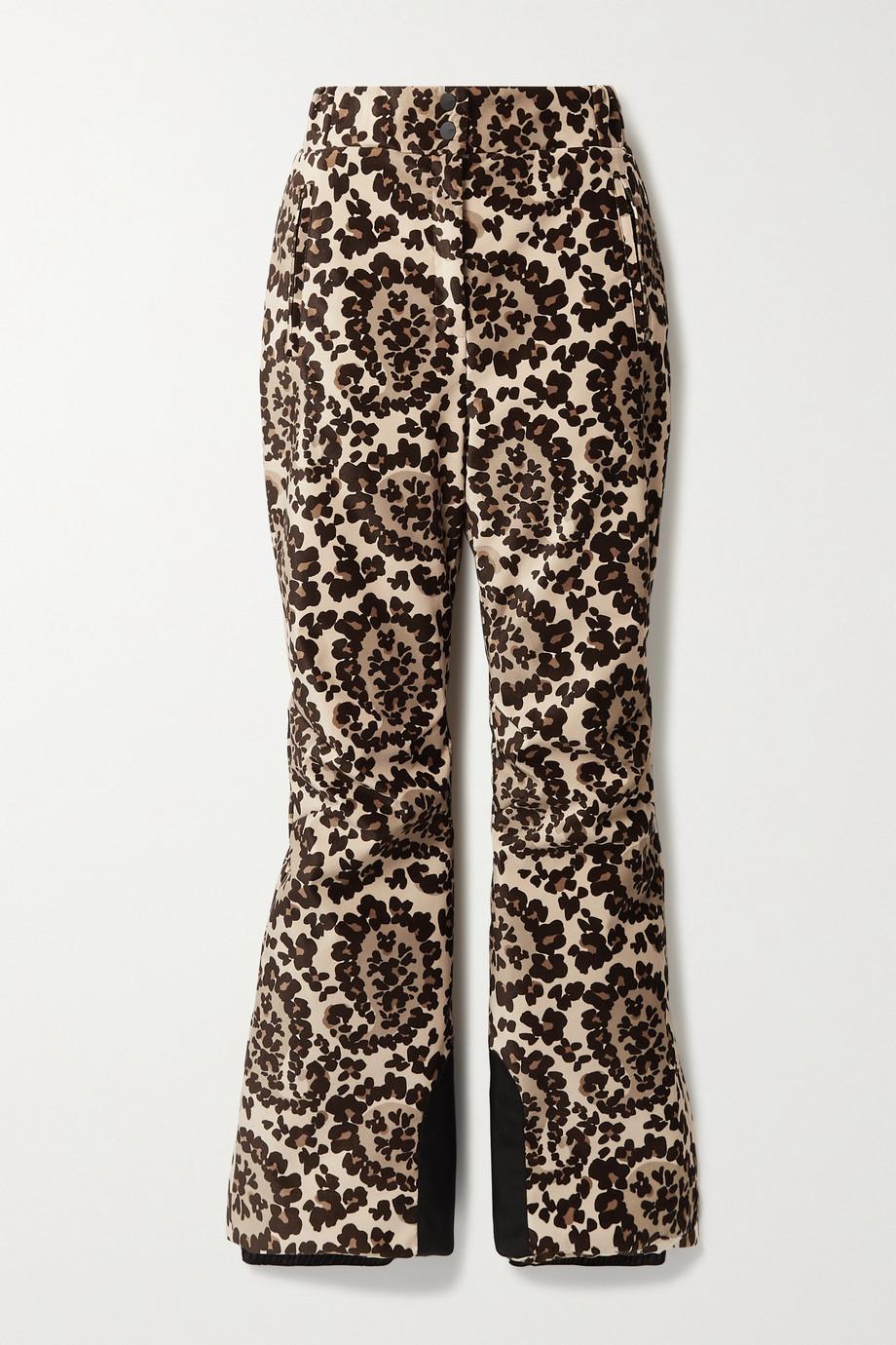 Fendi Pantalon de ski bootcut en velours imprimé