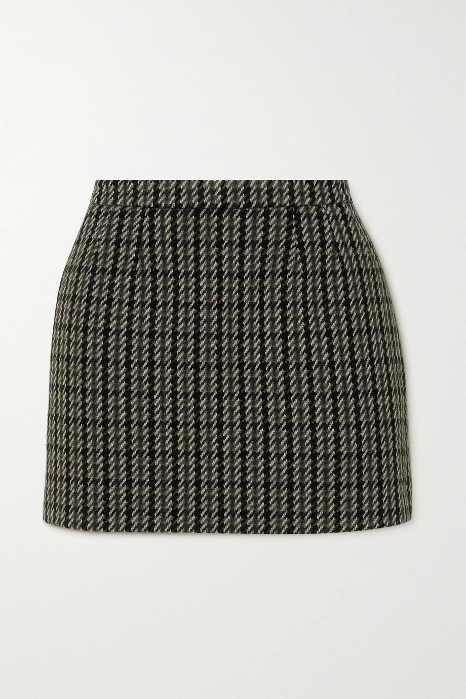 REDValentino Minirock aus Tweed aus einer Wollmischung
