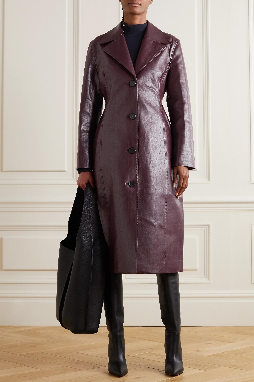 LVIR Faux leather coat