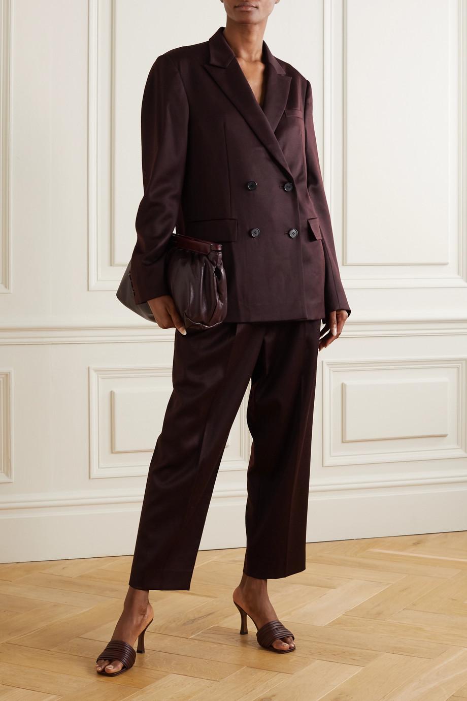 LVIR Oversized double-breasted wool blazer