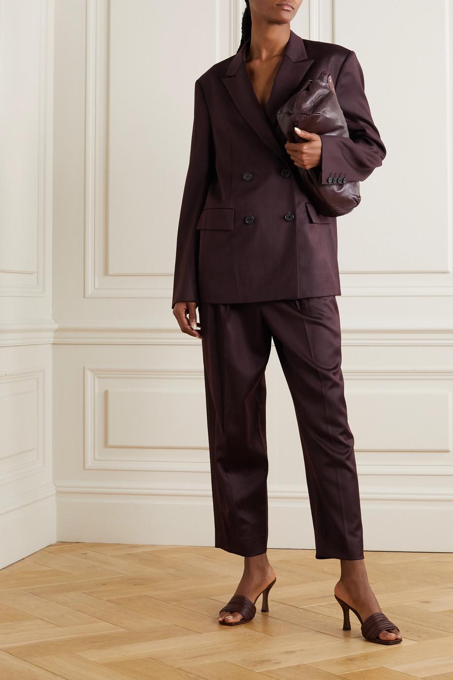 LVIR Wool straight-leg pants