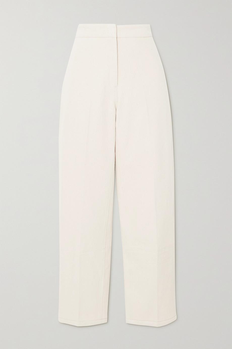 LVIR Cotton-twill tapered pants