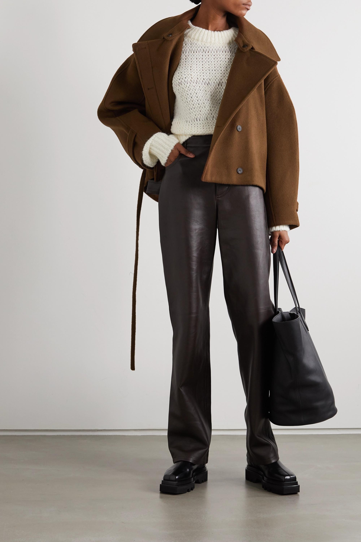 LE 17 SEPTEMBRE Manteau en laine à ceinture