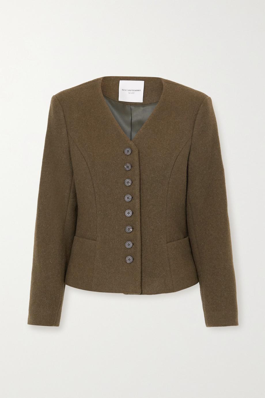 LE 17 SEPTEMBRE Jacke aus einer Wollmischung