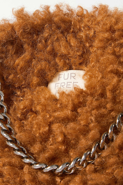 Stella McCartney The Falabella small faux shearling tote