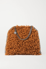Stella McCartney The Falabella small faux shearling tote