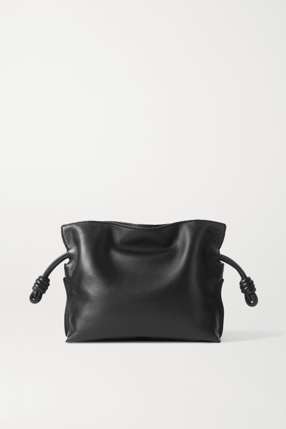 Loewe Flamenco mini leather clutch