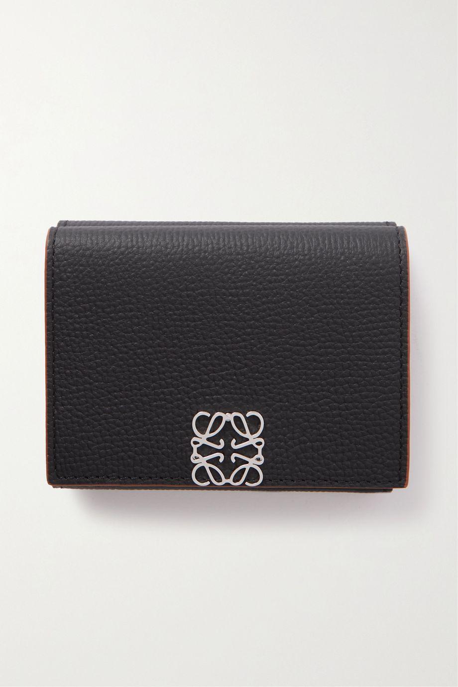 Loewe Anagram textured-leather wallet
