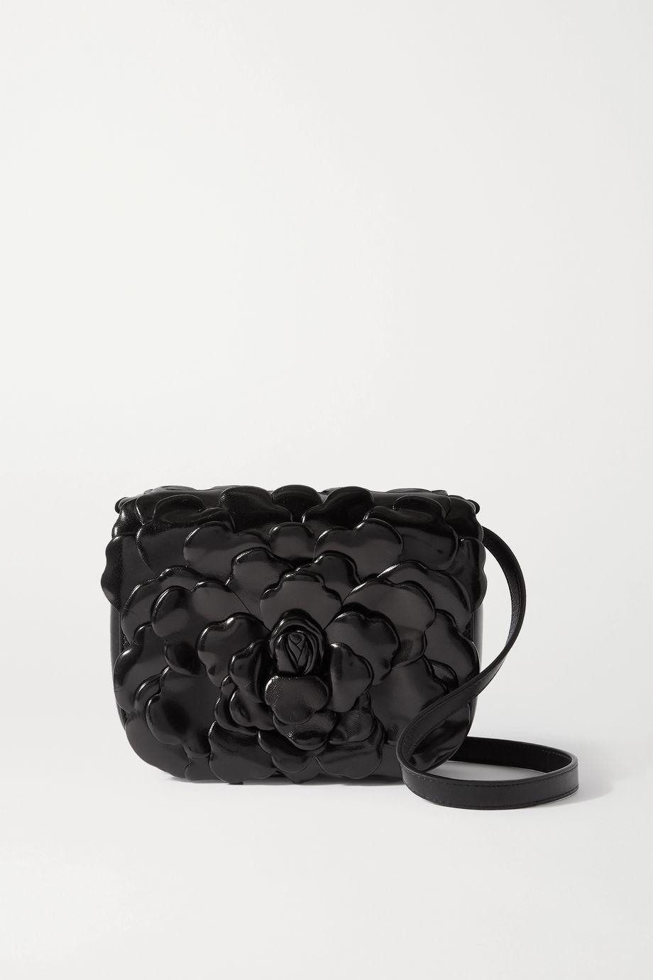 Valentino Valentino Garavani 03 Rose Edition Atelier small glossed-leather shoulder bag