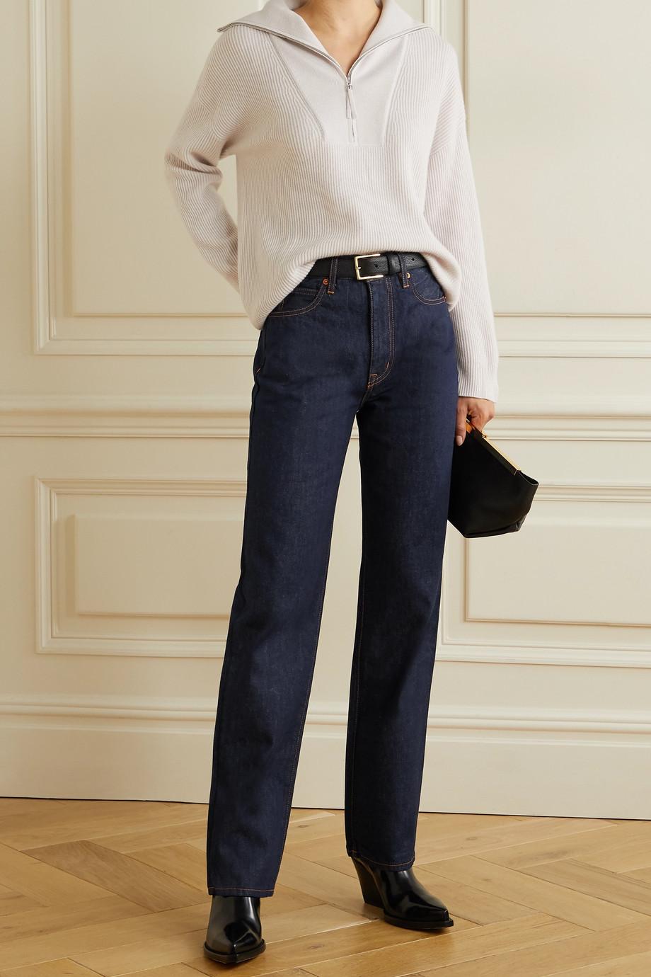 SLVRLAKE London hoch sitzende Jeans mit geradem Bein