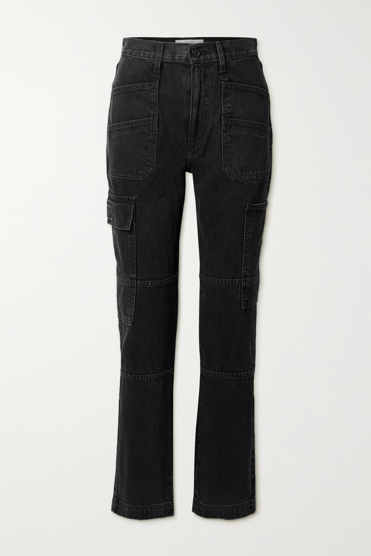 SLVRLAKE - Savior high-rise straight-leg jeans