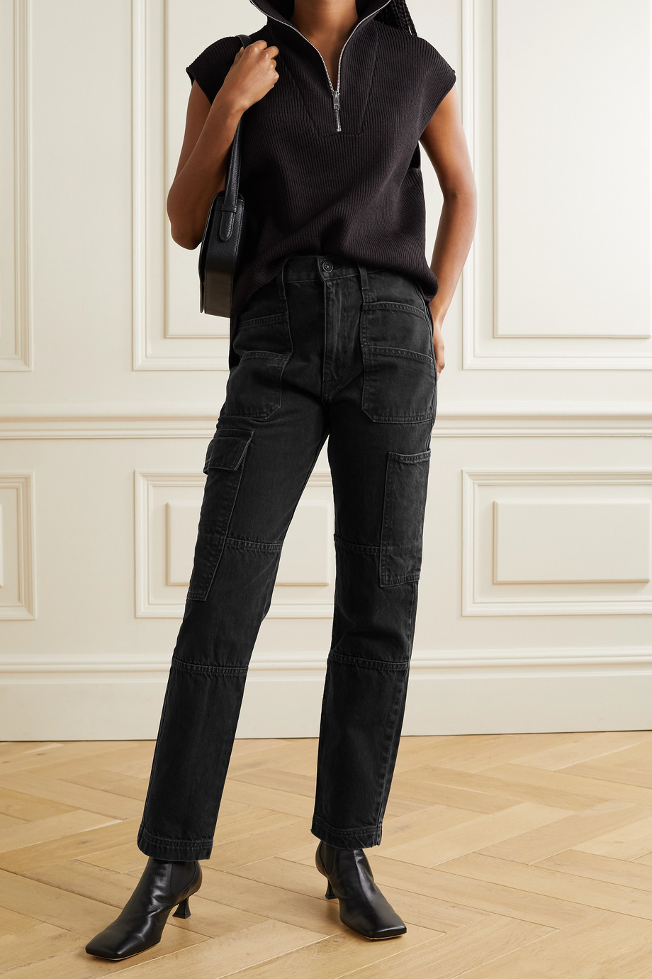 SLVRLAKE Savior high-rise straight-leg jeans