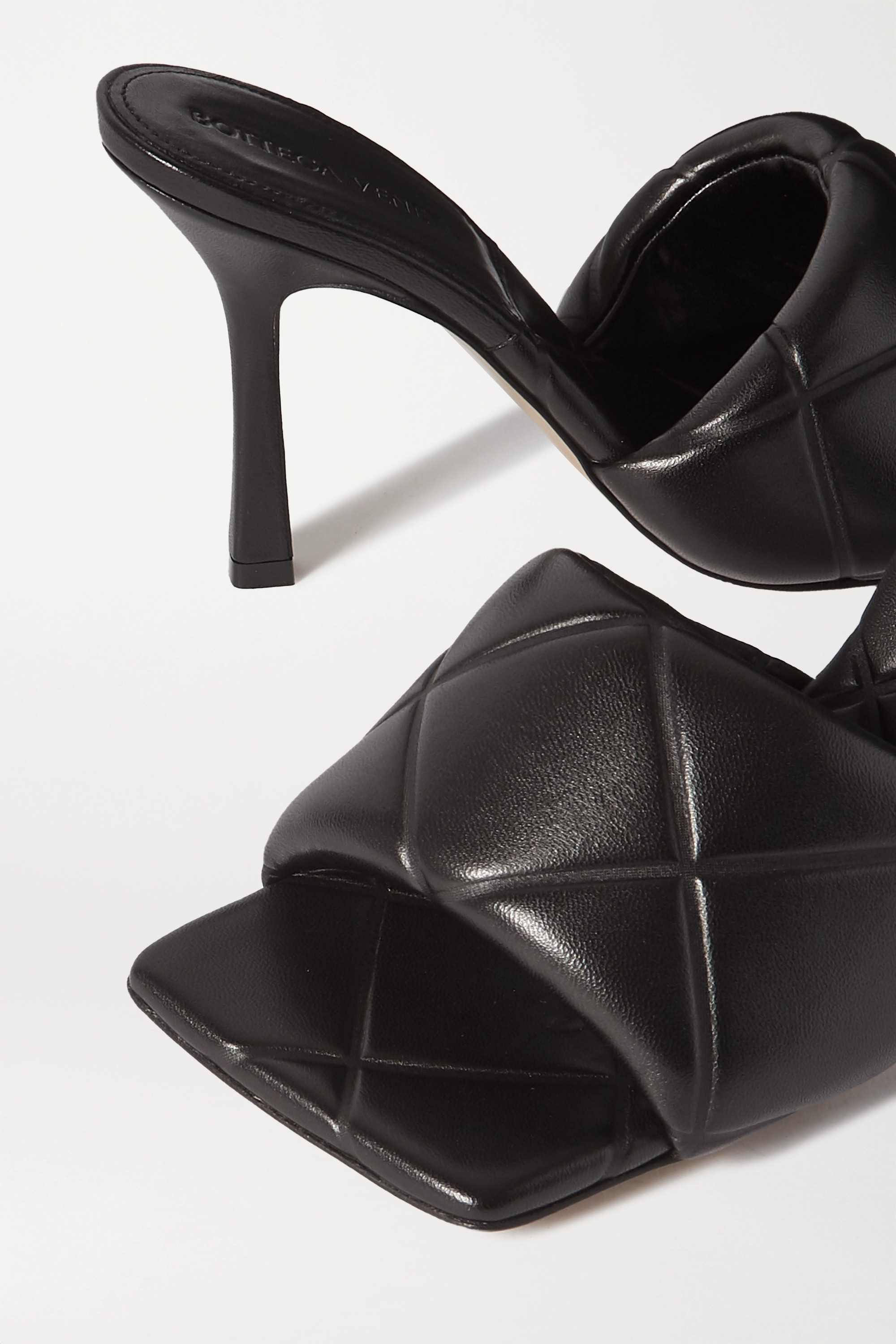 Bottega Veneta Debossed leather mules