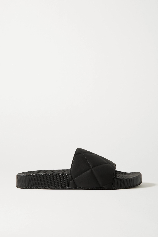 Bottega Veneta 压花橡胶拖鞋