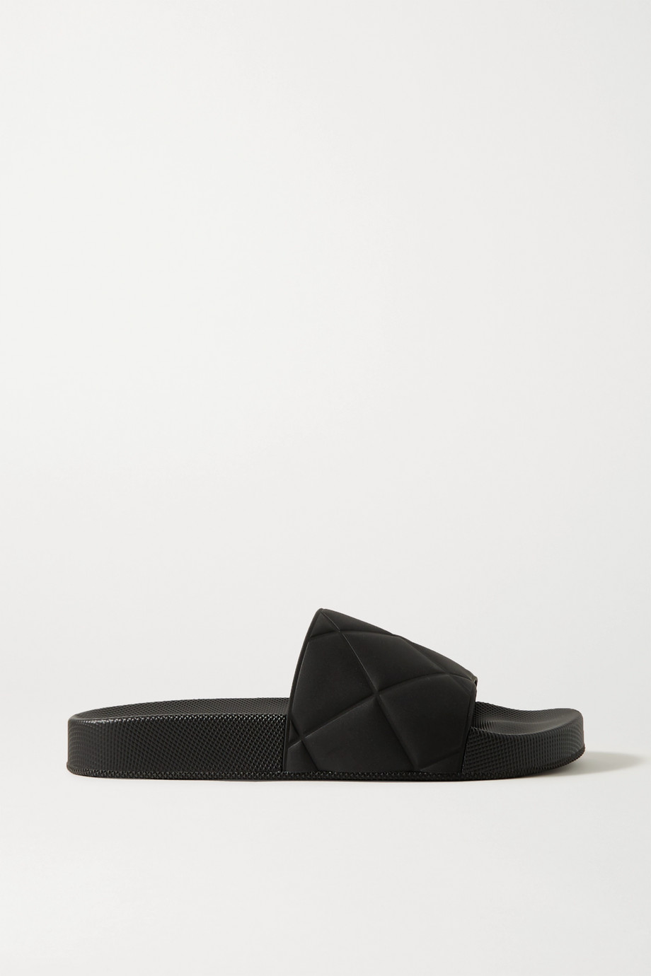 Bottega Veneta Embossed rubber slides