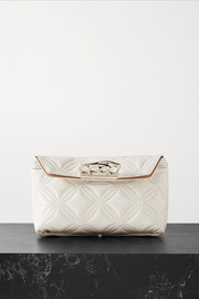 Alexander McQueen Quilted leather clutch