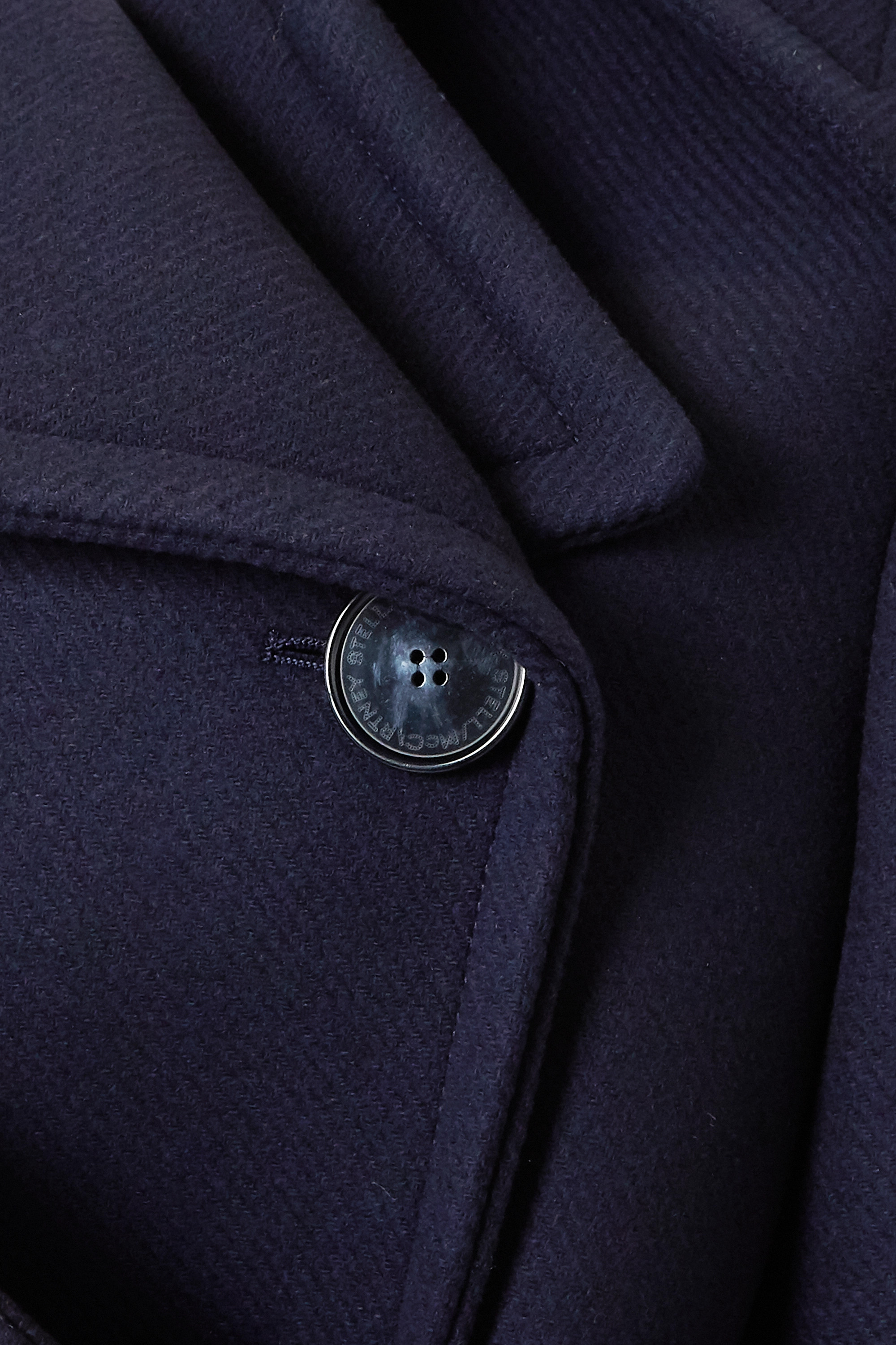 Stella McCartney Belted double-breasted wool coat