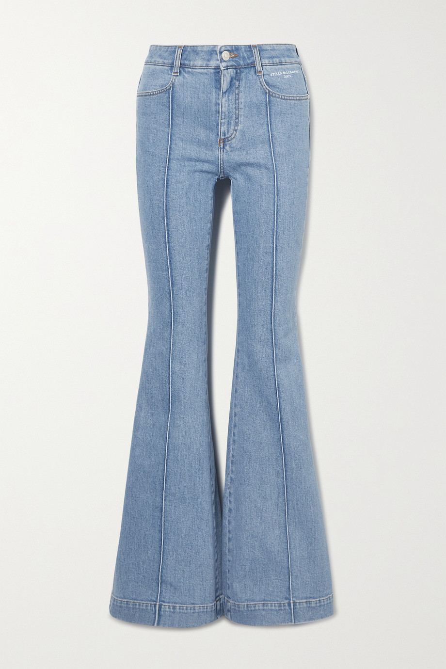 Stella McCartney The '70s high-rise flared jeans