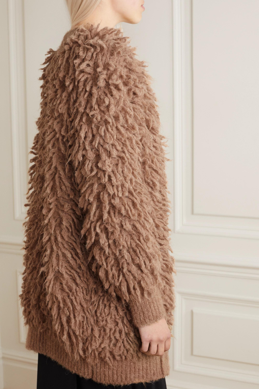 Stella McCartney Fringed wool cardigan