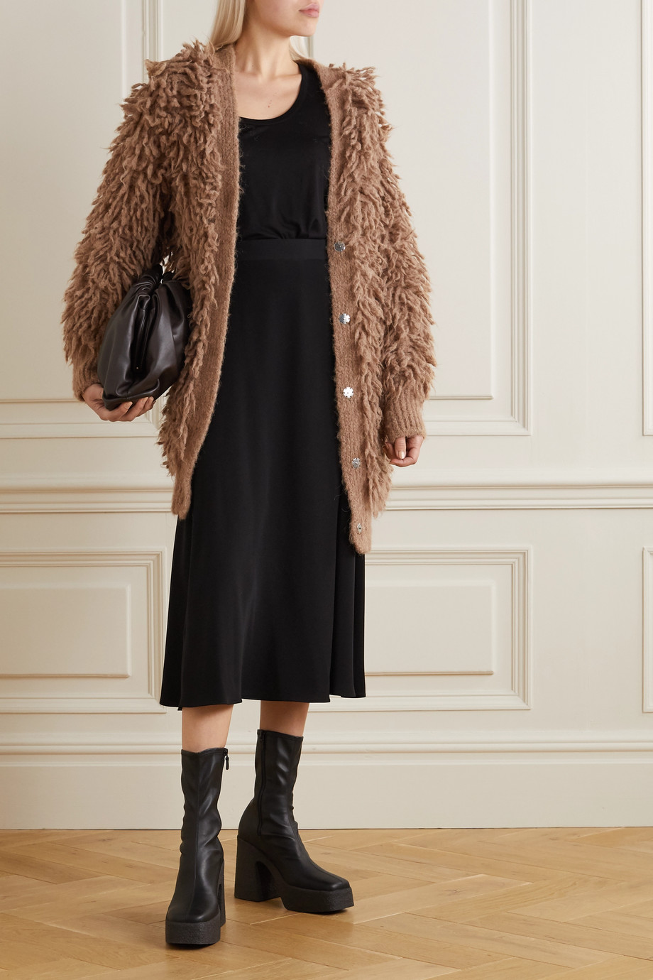 Stella McCartney Fringed wool cardigan