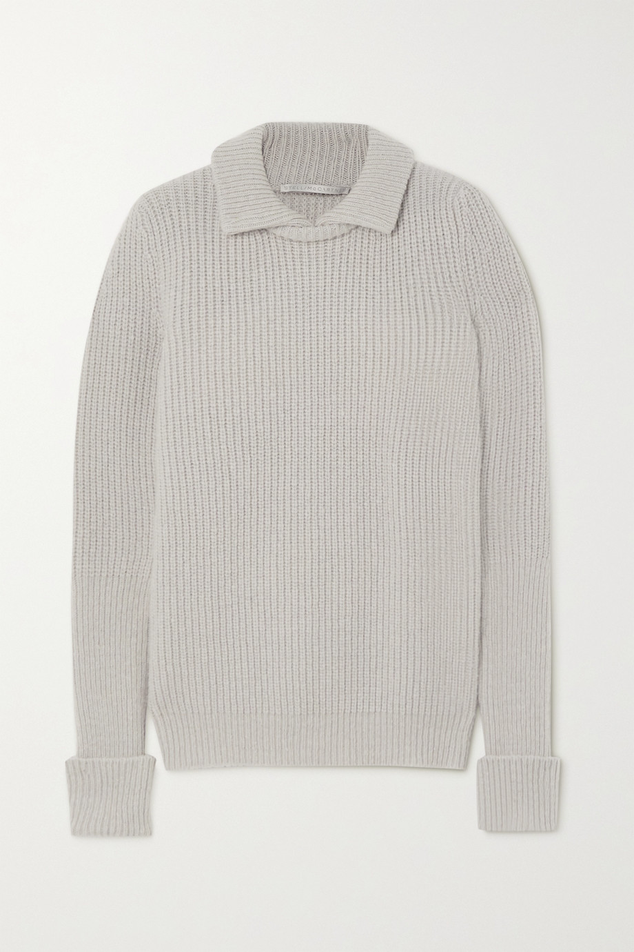 Stella McCartney Ribbed wool-blend sweater