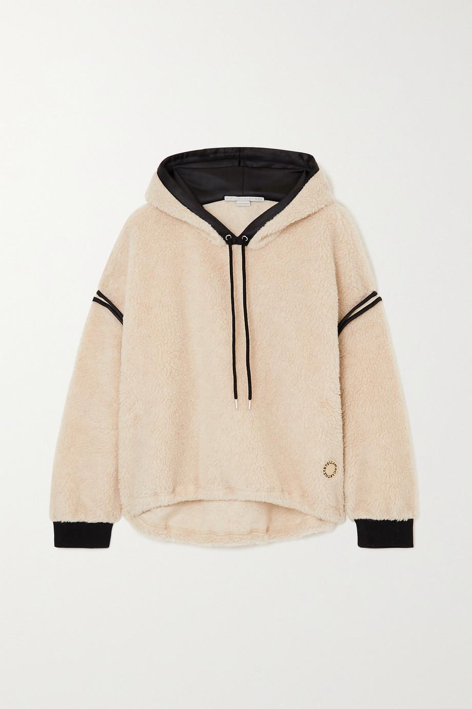 Stella McCartney Faux shearling hoodie