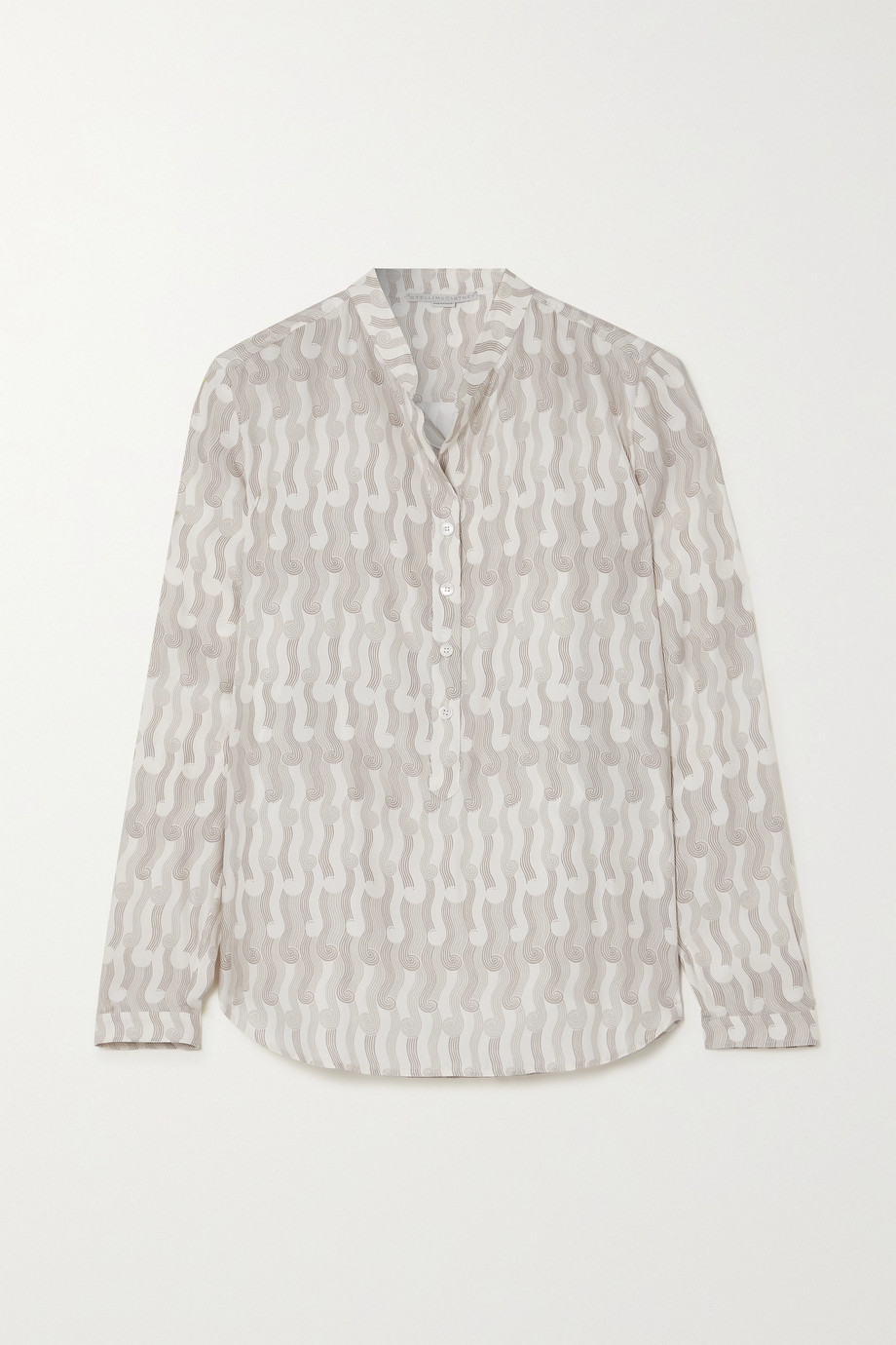 Stella McCartney Eva printed silk shirt
