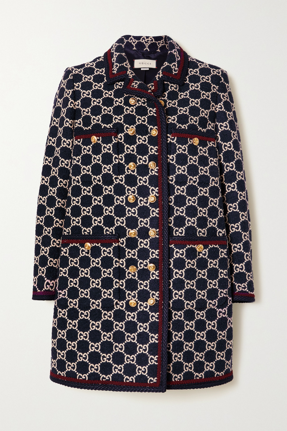 Gucci Cotton-blend bouclé-tweed coat