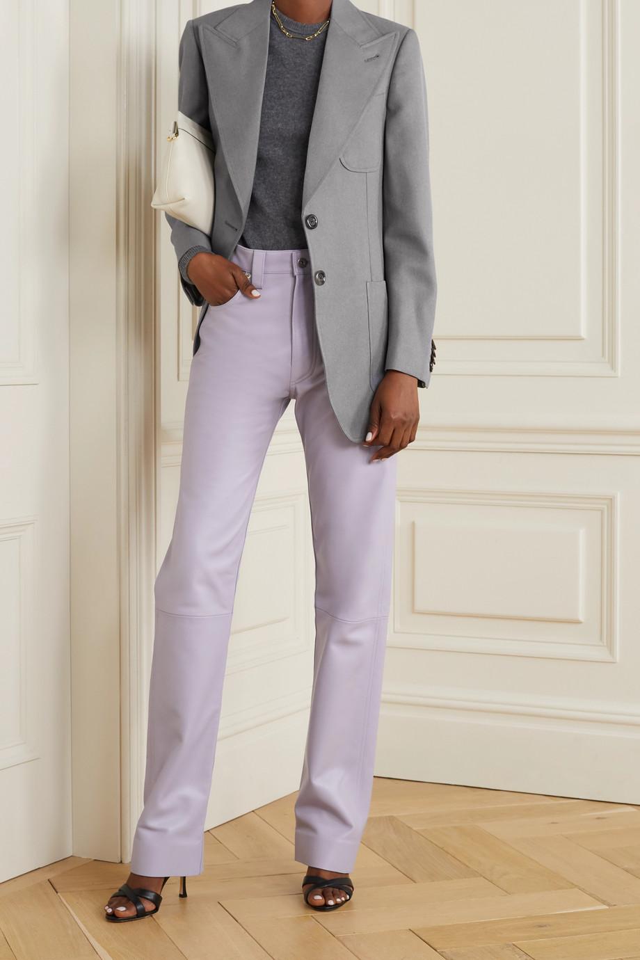 Gucci Oversized woven blazer