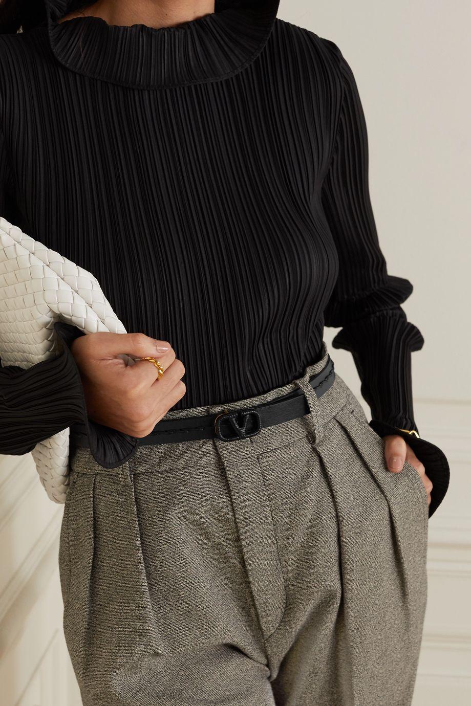 Valentino Valentino Garavani leather belt