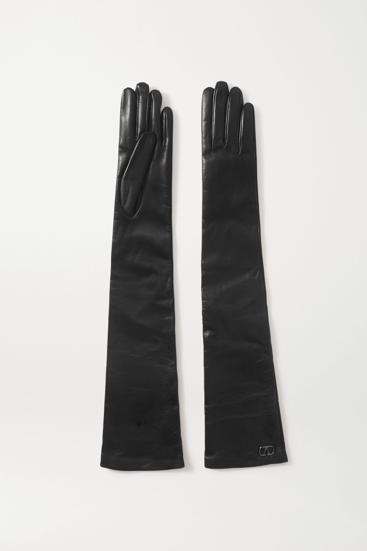 Valentino Valentino Garavani Handschuhe aus Leder mit Verzierung